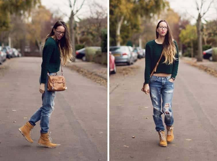 combo13 30 Stylish Shoes to Wear With Boyfriend Jeans For Chic Look