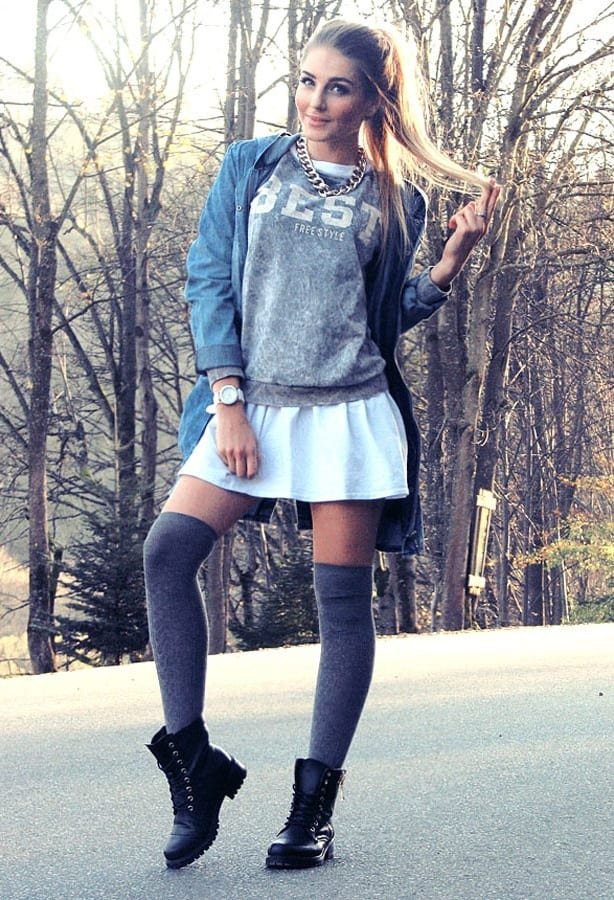 cute preppy outfits for girls (15)