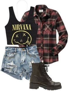 eefa69836c64c33a6f3393c83d4e2eca 25 Cute Grunge Fashion Outfit Ideas to Try This Season