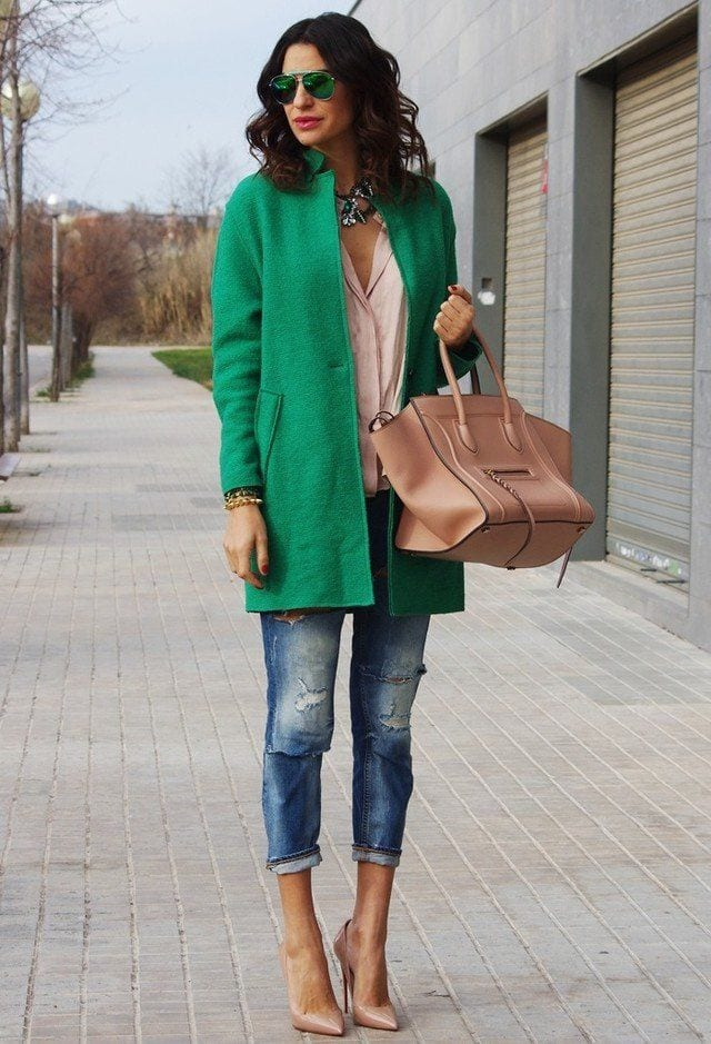 f56c7336d38ff8da3e2089a7f25045c9 16 Cute Green Outfits Combinations for St. Patrick Day