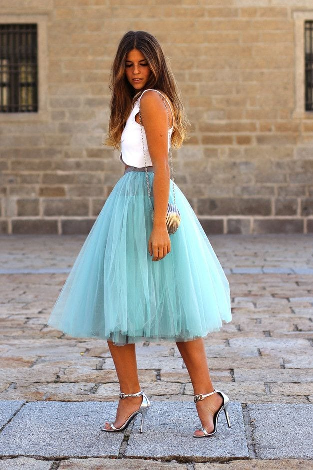 fb30725c7d733c3f417b2da47322f490 Midi skirts outfits-16 Cute Outfits To Wear With Midi Skirts