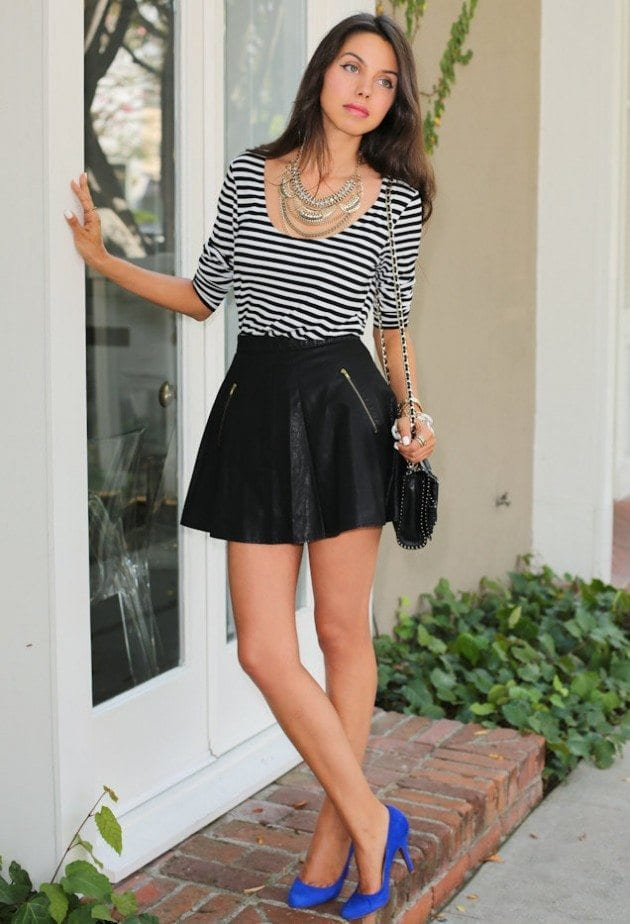 free-people-black-vince-camuto-skirtslook-main-single-630x924 15 Ideal Outfits To Wear With Statement Necklaces All Season