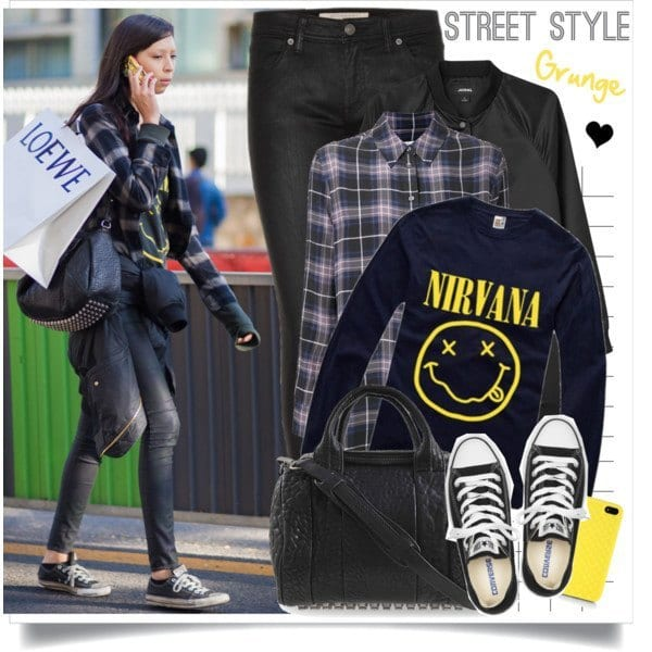cute grunge outfits teen girls (7)
