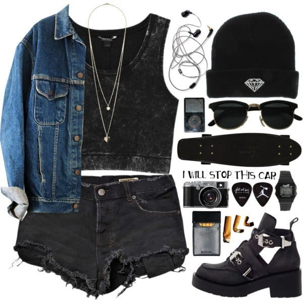 cute grunge outfits teen girls (6)