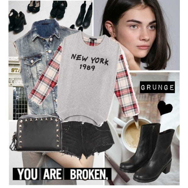 grunge-fashion-outfit-ideas-3 25 Cute Grunge Fashion Outfit Ideas to Try This Season