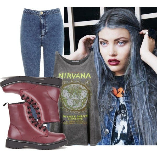 grunge-fashion-outfit-ideas-9 25 Cute Grunge Fashion Outfit Ideas to Try This Season