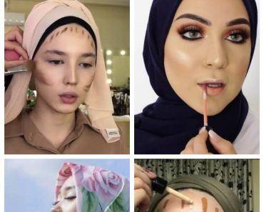 makeup ideas with hijab