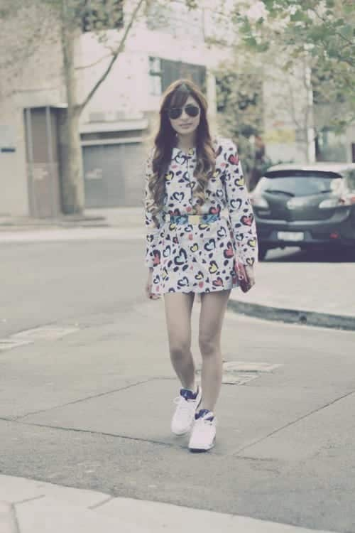 jordans-with-skirts 30 Cute Outfits Ideas to Wear with Jordans for Girls Swag