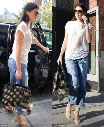 kendall-409x500 30 Stylish Shoes to Wear With Boyfriend Jeans For Chic Look