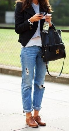 loafers 30 Stylish Shoes to Wear With Boyfriend Jeans For Chic Look