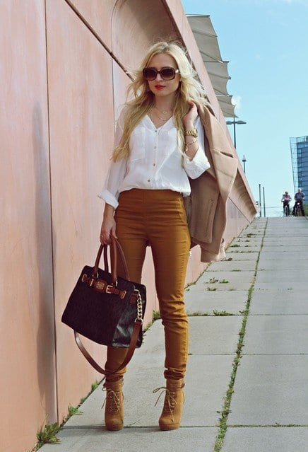 cute outfits to wear with platform boots (7)