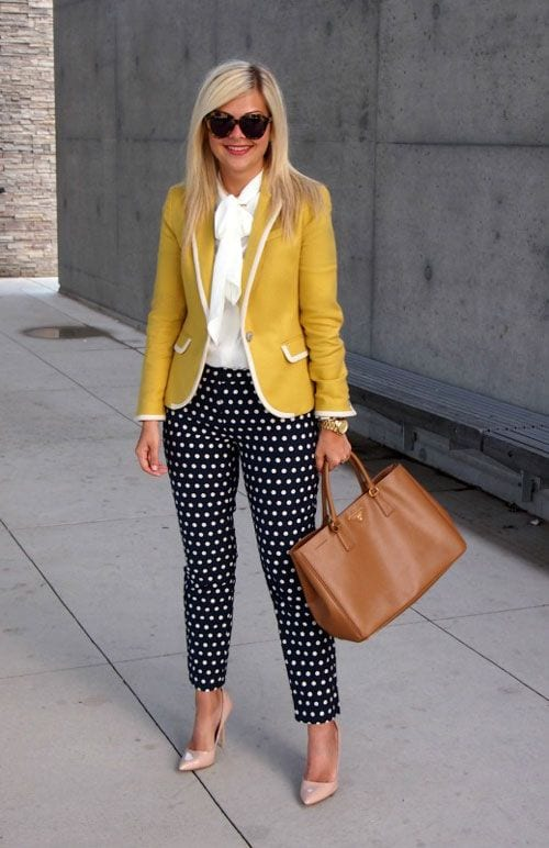 spring outfits for working women (7)