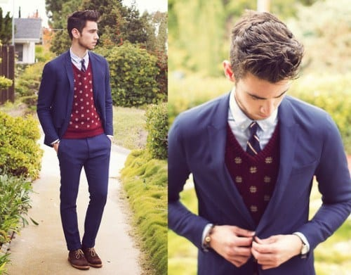 Cute Preppy outfits for men (5)