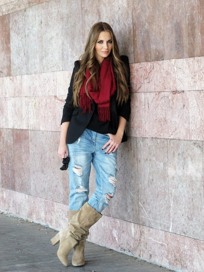 vanja-fashion-and-style-blog-3 30 Stylish Shoes to Wear With Boyfriend Jeans For Chic Look