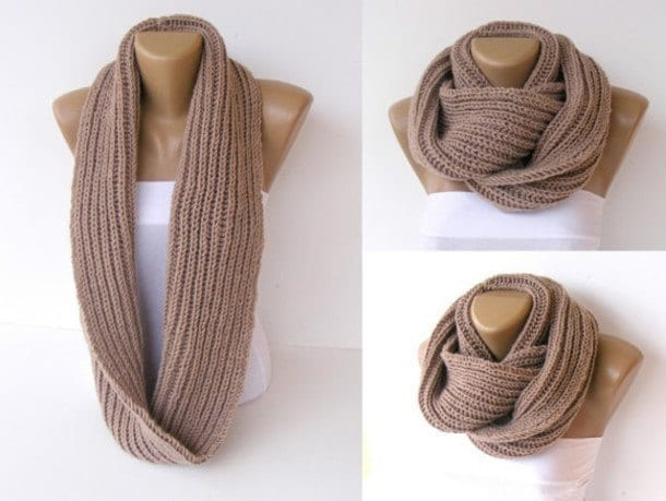 4-Infinity-Scarf-for-winter-season-13 Hijab With Infinity Scarf - Simple Ways to Wrap and Wear it