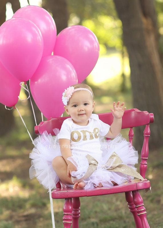 47db85eb9c036ed761014e341c9d714f 17 Cute 1st Birthday Outfits for Baby Girl All Seasons