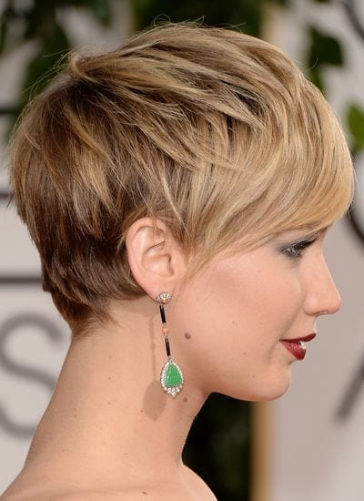 4f9710733d591bb2fe5767171229b4a5 25 Stunning Ideas To Wear Earrings With Short Hair