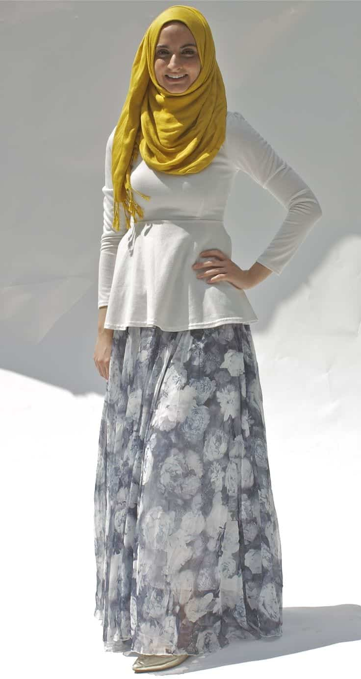 hijab maxi style 20 chic ways to wear hijab with maxi dress