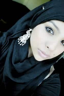 63b50280f503b663ad64cf6c8b195aad Hijab Earring Style - 16 Ideas to Wear Earrings with Hijab