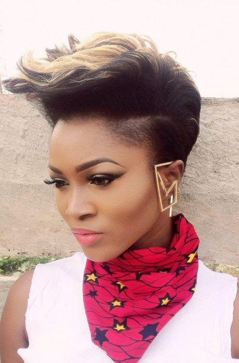 Wondrous 25 Stunning Ideas To Wear Earrings With Short Hair Short Hairstyles For Black Women Fulllsitofus