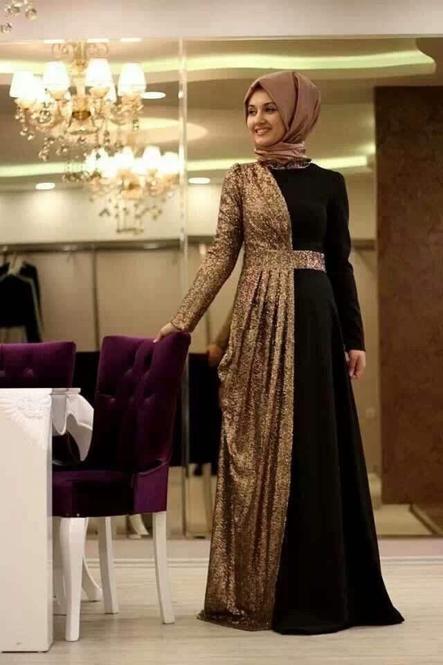 984eb475eabb98445e0b43175f9a3d01 Hijab Maxi Style- 20 Cute Ways To Wear Hijab With Maxi Dress
