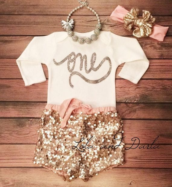 Outfittrends: 17 Cute 1st Birthday Outfits For Baby Girl