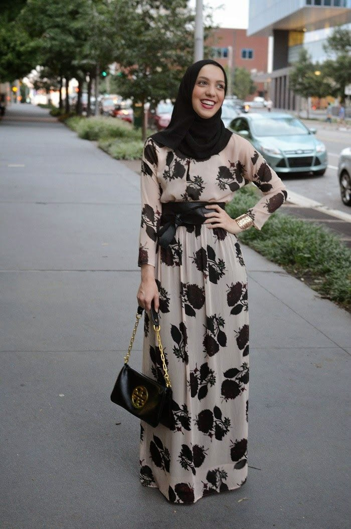 9e96c50eb6da0bc73a626edba53fd26e Hijab Maxi Style- 20 Cute Ways To Wear Hijab With Maxi Dress