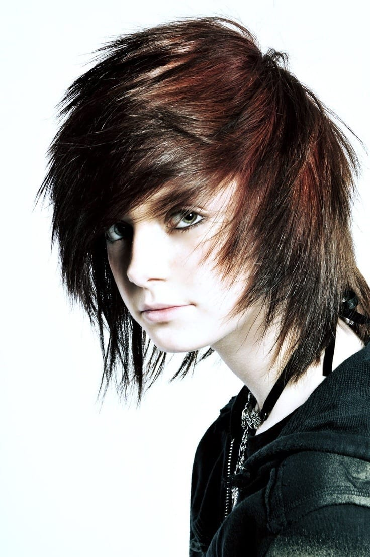 Top 12 Emo Hairstyles For Guys Trending These Days