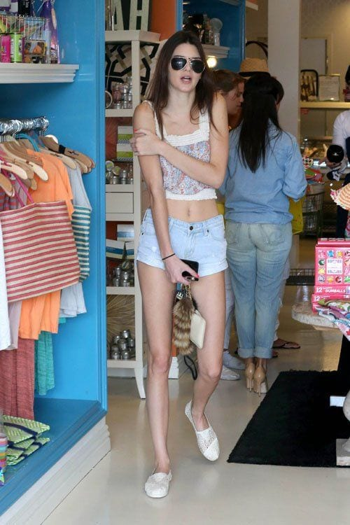 stylish-pictures-of-Kendal-Jenner1 Kendall Has 80 Shorts and This is How Kendall Wears These Shorts