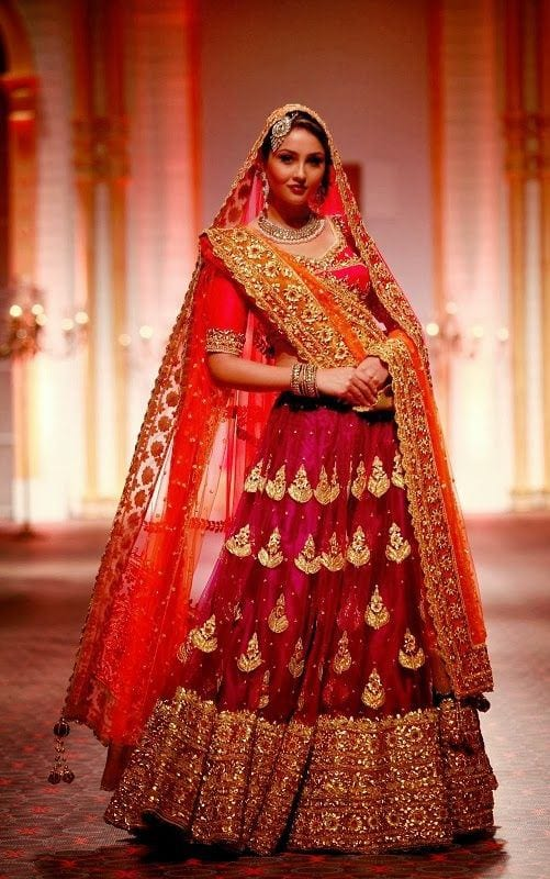05b8a083d9fcde3f993c75c196347f93 Indian Wedding Fashion-20 Latest Style Indian Bridal Outfits
