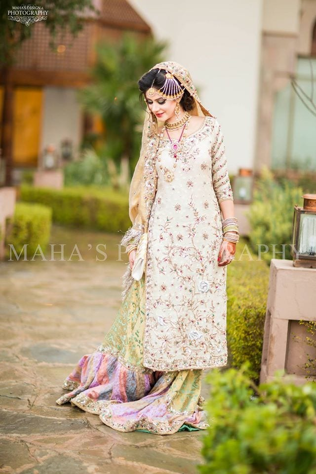 10896191_696692877107543_4531463076005074529_o 35 Latest Style Pakistani Bridal Outfits Combinations