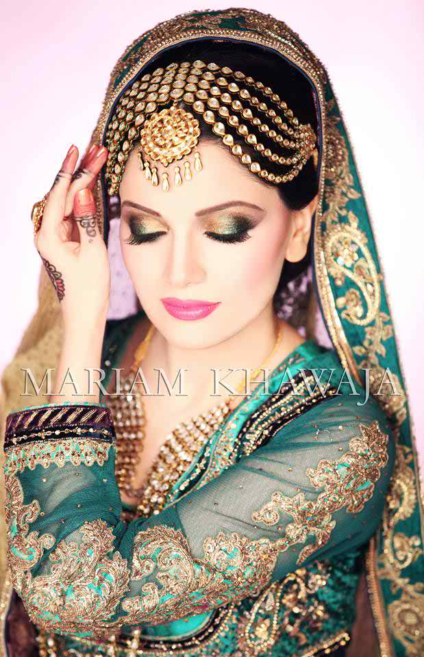Mehndi Makeup Looks : Cute mehndi makeup tips and tutorial