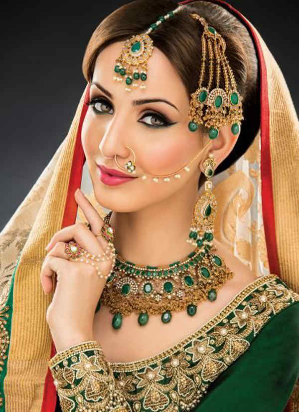 Mehndi Makeup : Cute mehndi makeup tips and tutorial
