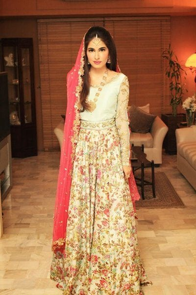15 Latest Style Walima Bridal Dresses004