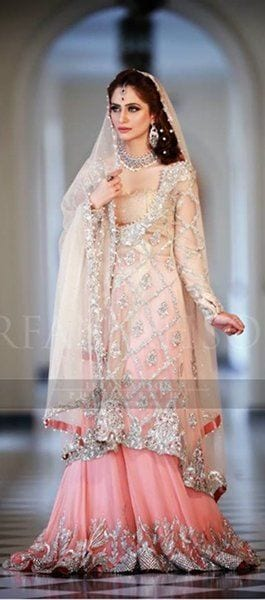 15 Latest Style Walima Bridal Dresses009