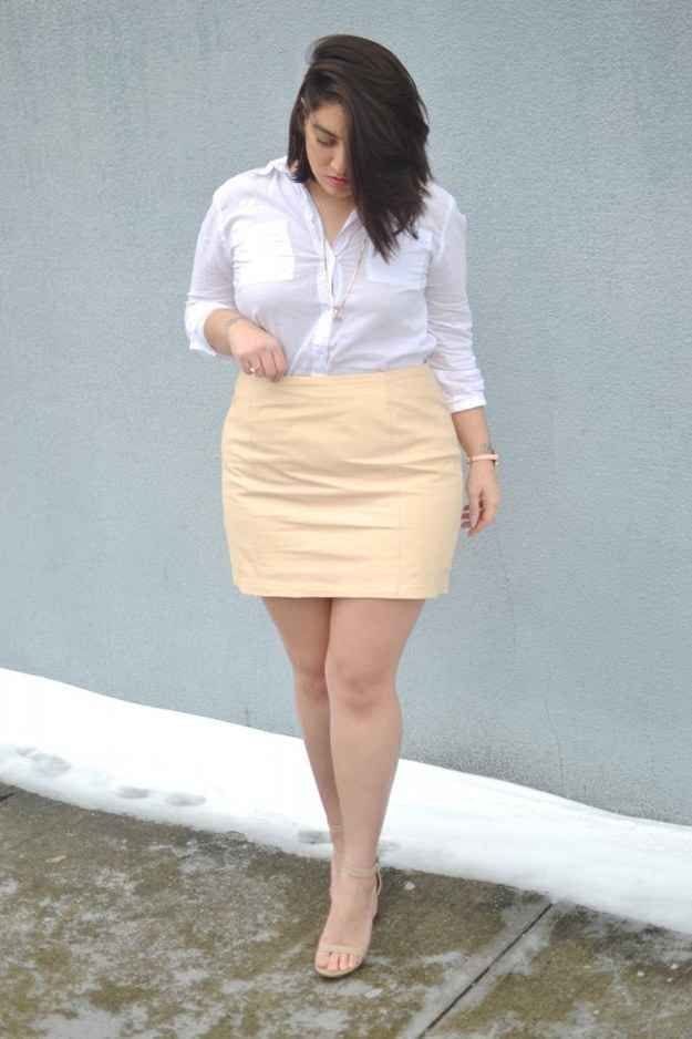 plus size women outfits with skirts (3)