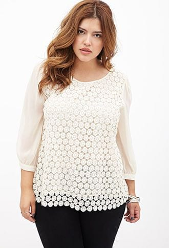 2ab3b3236e807518bf0b353637b043e2 20 Stylish High School/ College Outfits for Curvy Girls