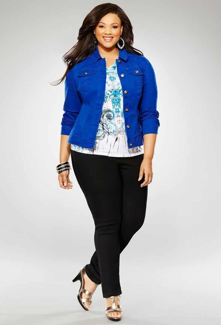 6e71dd78680b43edb9aa8654001e553f 20 Stylish High School/ College Outfits for Curvy Girls