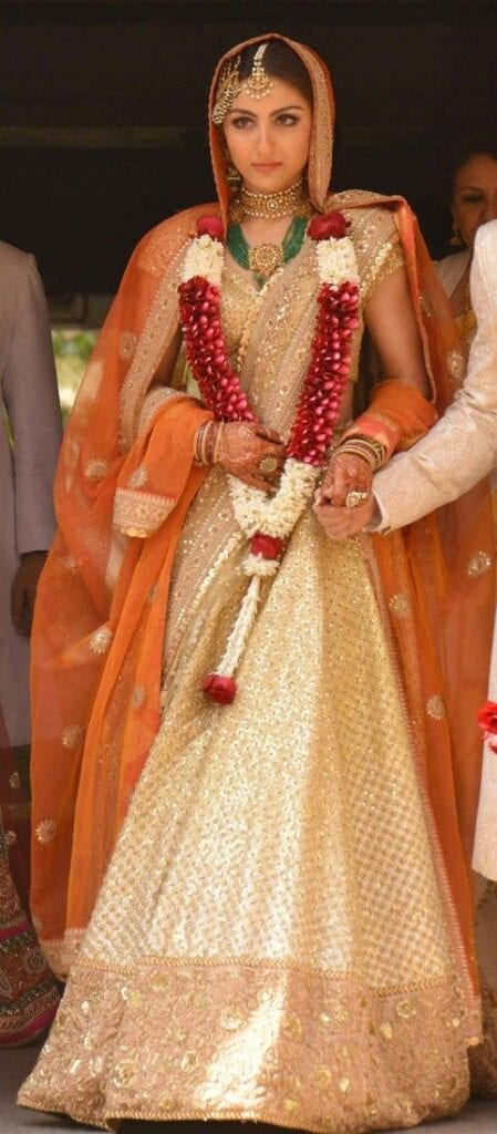 Soha Ali Khan wedding dress