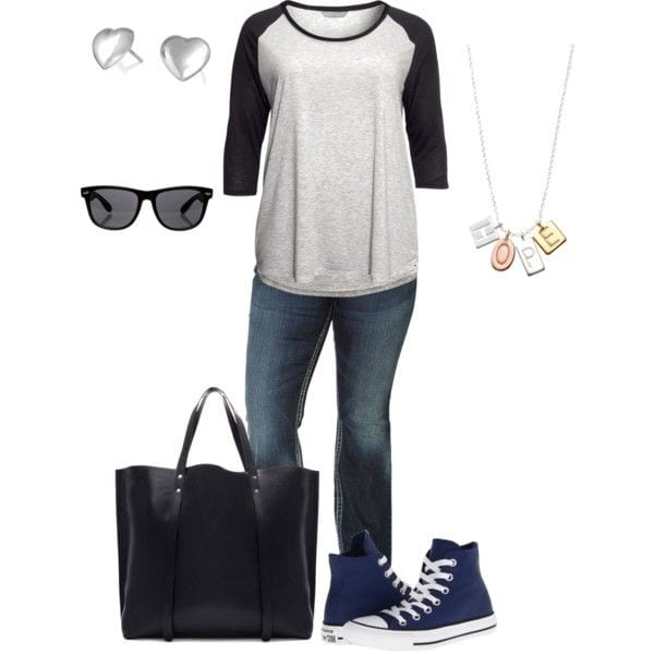 a4649b1f77d09bdce5363b9f34af710e 20 Stylish High School/ College Outfits for Curvy Girls
