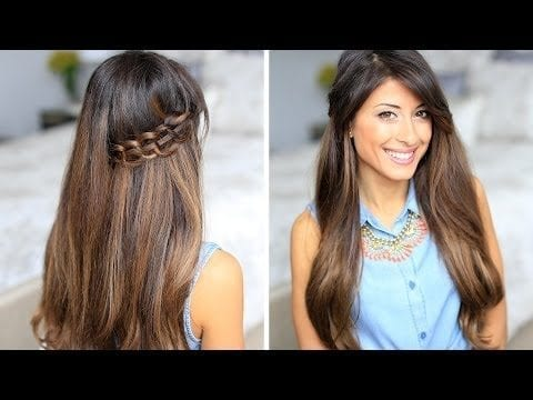 b21 16 Cute Summer Hairstyles for College Girls to Stay Cool