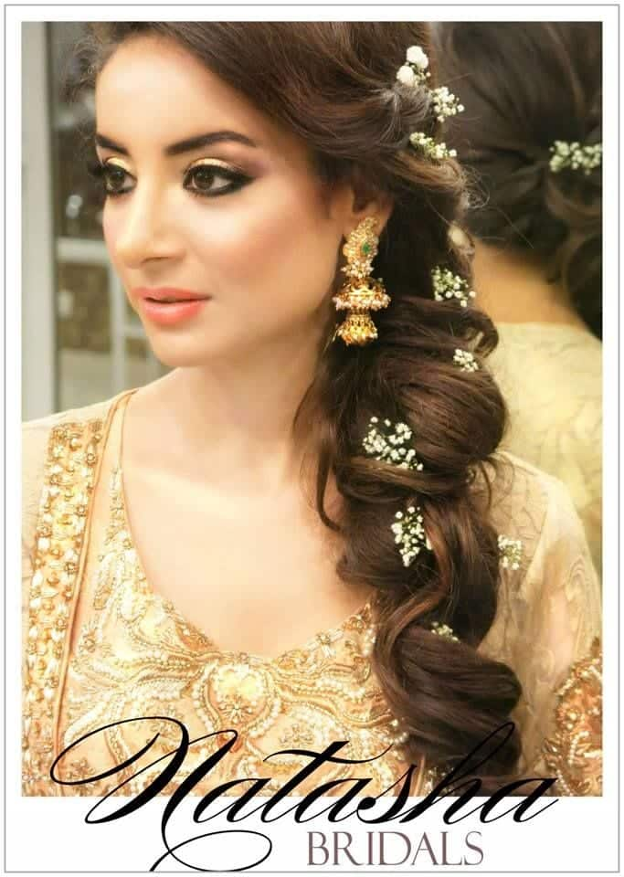 b66926f25d63c7339b0f753881a1969e 25 Easy and Gorgeous Hairstyles For Walima Function This Season