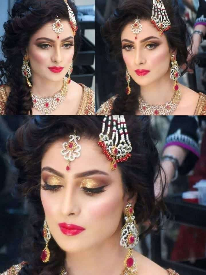 cdf3ec0e6d88427ce1656a551bf5ec7c 25 Easy and Gorgeous Hairstyles For Walima Function This Season