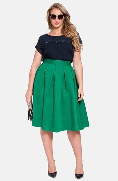 20 stunning skirt combinations for plus size