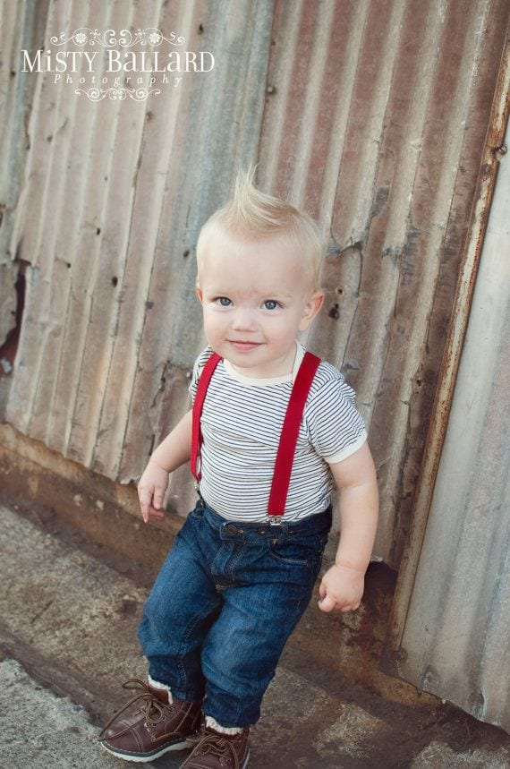 Baby Boy Dress Clothes Dress your little one in adorable flair with baby boy dress clothes. From special events to momentous occasions, we've got dapper little suits, dress shirts and sets for a handsome, head-to-toe look.
