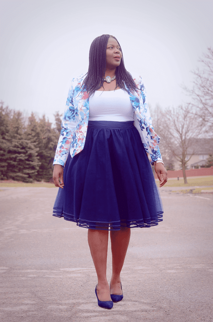 Model  Tips For PlusSize Girls Who Want To Rock Voluminous Skirts  Gurlcom