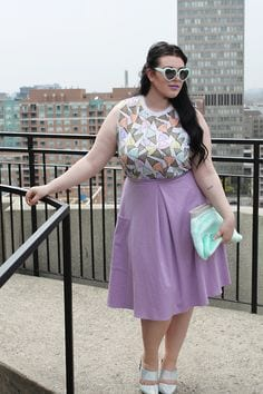 plus-size2 18 Cute Pastel Outfit Combinations and Ideas to Wear Pastel