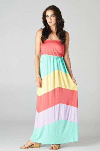 stripe-maxi-333x500 18 Cute Pastel Outfit Combinations and Ideas to Wear Pastel