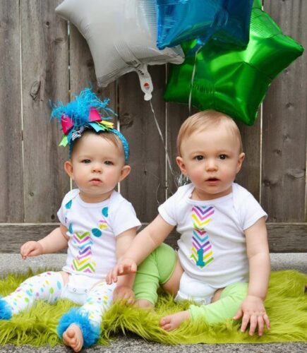 twins-435x500 20 Cute Outfits Ideas for Baby Boys 1st Birthday Party