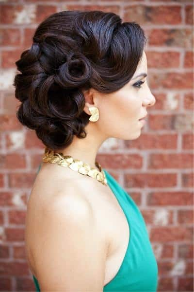 wedding-hairstyle-ideas 25 Best Vintage Outfit Ideas for A Perfect Vintage Look